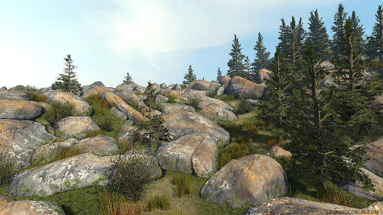 Manitoba Crash Site Udk Env Polycount