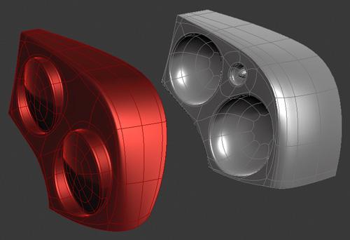 Texturing Rearlights | Laurens Corijn